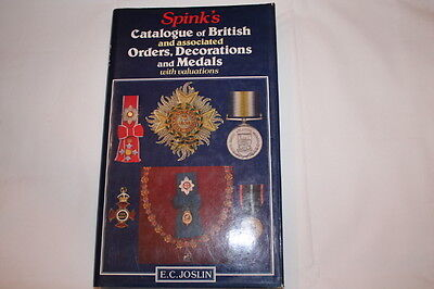 Spinks Catalogue Of British Orders Decorations & Medals Reference Book