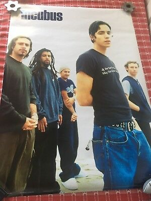 Incubus Band Poster Size 34 X 24
