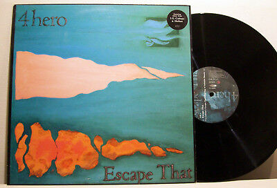 "4 HERO - escape that 12"" BROKEN BEAT hefner I.G.CULTURE mixes TALKIN' LOUD"