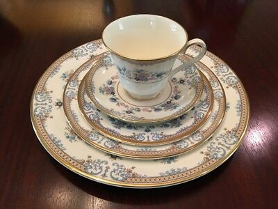 60pc Minton Avonlea Dinner Set 12 Place Settings Bone China England New (D)