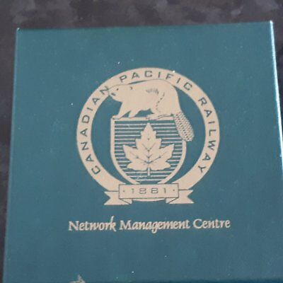 Canadian Pacific Railway Slate Collector Coaster