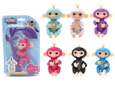 Fingerlings  Bébé Singe Interactif Mauve