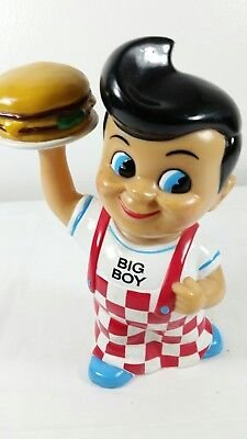 8 inch big boy figurine plastc bank