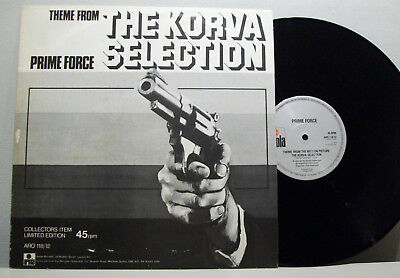 """PRIME FORCE - theme from the korva selection 12"""" ELECTRO-DISCO theme SOUNDTRACK"""