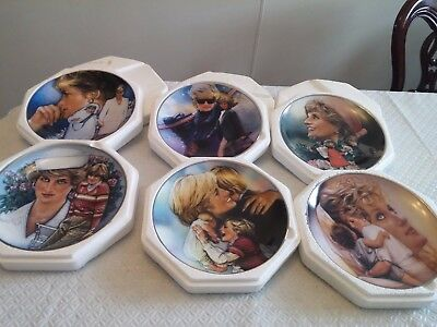Franklin Mint collectors plates/princess Diana