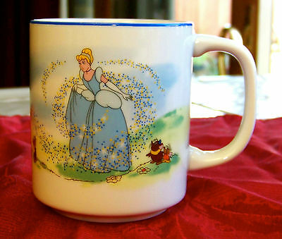 Vintage Cinderella Coffee Cup Walt Disney World Disney Japan