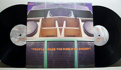 Various - PEOPLE... make the world go round 2xLP sk radicals ELECTRIC SOUL jazz