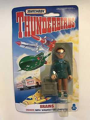 Matchbox Thunderbirds Brains Figure