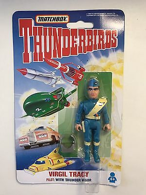 Matchbox Thunderbirds Virgil Tracey Figure