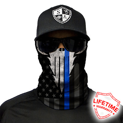 Police Appreciation Face Shield Face Mask. Free Shipping In Canada! 20 New Style