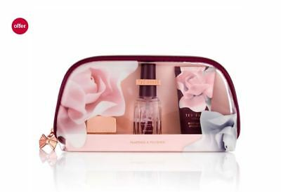Ted Baker Pampered & Polished Beauty Bag 4 piece CHRISTMAS Gift New