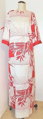 1335  Nwot POLYNESIAN CASUALS for NEIMAN MARCUS Shift Lounger  Sz 14 vintage sz