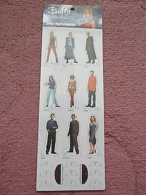 Buffy The Vampire Slayer 3 Inch Cardboard Cutouts x 9
