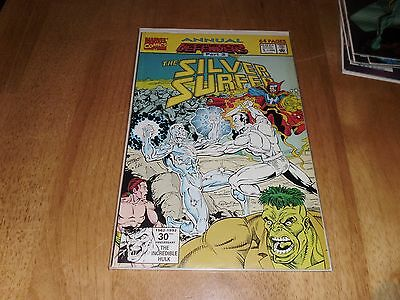 Marvel Annual The Return of the Defenders Pt 3The Silver Surfer 64 Pages