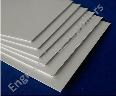 White Matt/Gloss Plasticard Sheet High Impact Polystyrene HIPS A5-A3, 1, 2 & 3mm