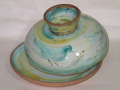 Large Lucy Boyd Beck Cheese Dome. Australian Pottery
