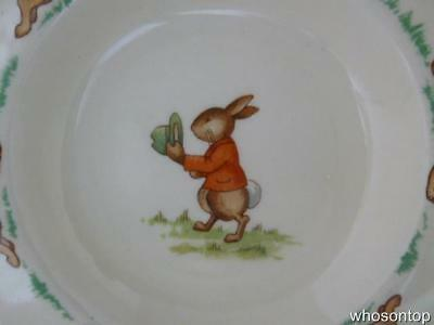 Royal Doulton Bunnykins - Beaker cover - 1940 - 1968 Withdrawn