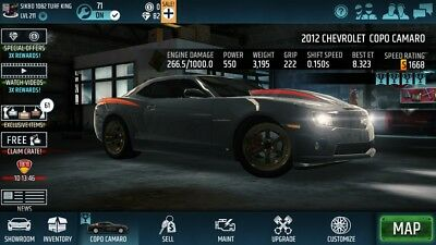 Racing Rivals 1668 Tuned Copo