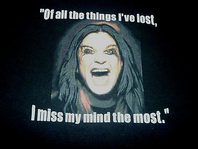 Ozzy Osbourne Shirt ( Used Size M ) Very Good Condition!!!