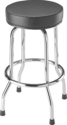 Torin TRP6185 Swivel Seat Shop/Bar Stool, Black