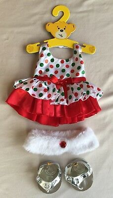 BUILD A BEAR Outfit & Shoes...NEW... Genuine