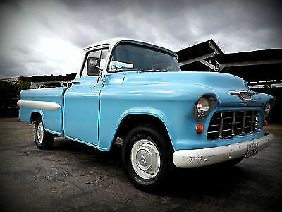 1955 Chevrolet Other Pickups Fleetside 1955 Chevy Chevrolet Fleetside Pick Up PU unique can be restored to original