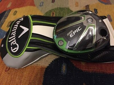 New 2017 Callaway GBB Epic Sub Zero 9* 9 degree Driver Head only RRP£470