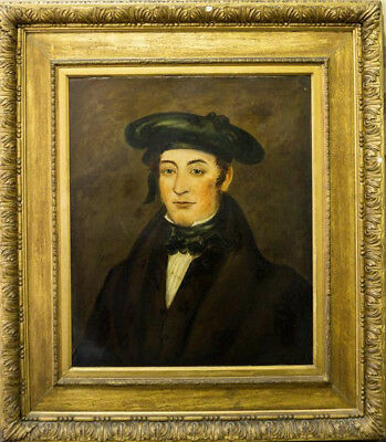 Fine 18th, 19th Century Portrait Painting of a Distinguished Gentleman