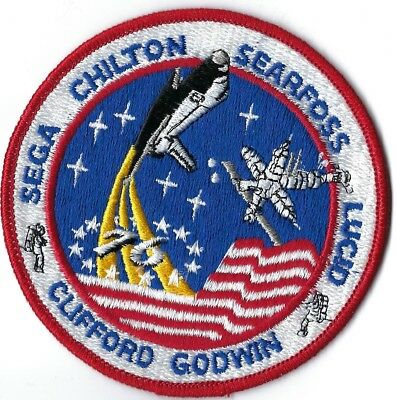 Nasa Space Shuttle Sts-76 Mission Patch
