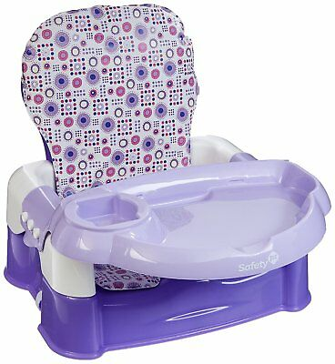 Safety 1st Deluxe Sit, Snack & Go Convertible Booster Seat, Lavender - 246