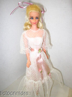 Vintage Barbiefriend Truly Scrumptious Sally Howes Doll W/ Gown & X Stand