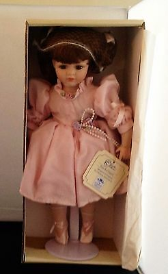 Leonardo Collection Porcelain Doll, ROSIE the little ballerina
