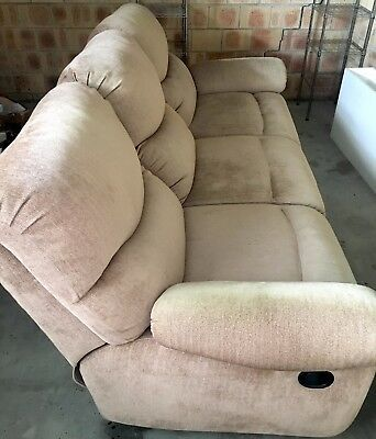 3 seater recliner sofa lounge + 1 seater recliner sofa lounge