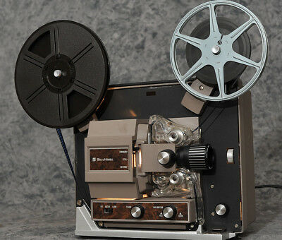 Bell and Howell Super 8mm projector variable speed, zoom lens, sweet!