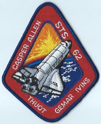 Nasa Space Shuttle Sts-62 Mission Patch