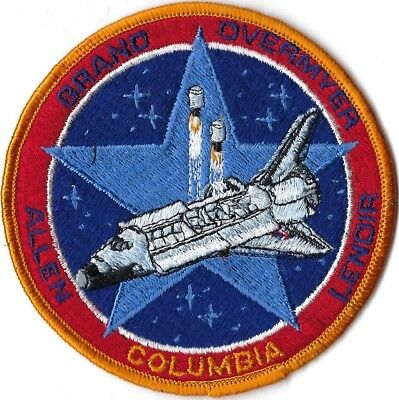 Nasa Space Shuttle Sts-5 Mission Patch
