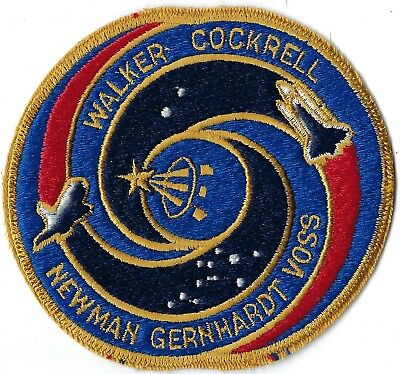 Nasa Space Shuttle Sts-69 Mission Patch