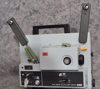 Elmo Film Projector ST-1200 Super 8mm with sound