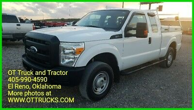 2011 Ford F-250 XL 2011 Ford F-250 XL 4wd Extended Cab Short  Bed 6.2L Gas F250 Toolboxes racks