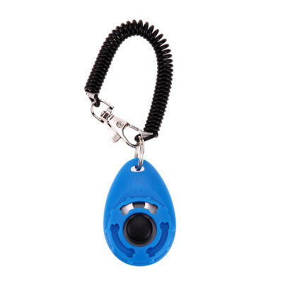 Dogs Training Clicker Adjustable Sound Key Chain Clicker Dog Trainings Tools GH