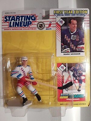 Mark Messier Rangers NHL Starting Lineup Action Figure 1st Year Edition NIB