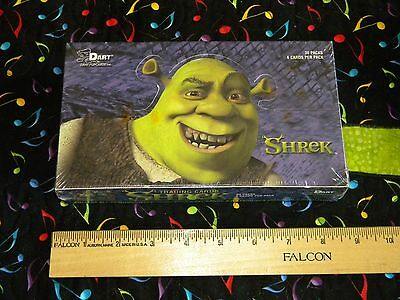 Shrek Trading Cards Sealed Box 30 Packs