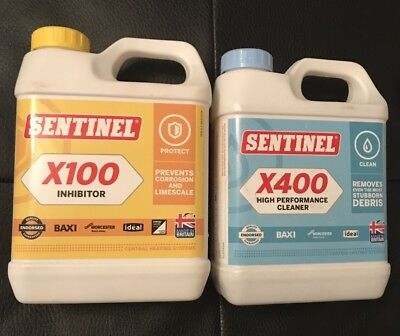 Sentinel X100 Protected And X400 Cleaner Set