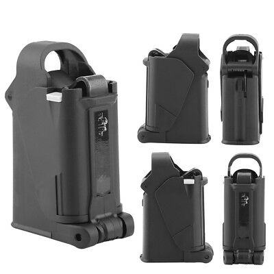 Black Up Universal Pistol Magazine Speed Loader & Unloader for 9mm - .45ACP