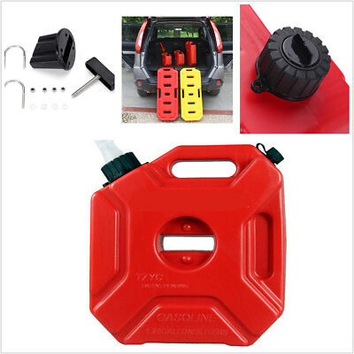 3L Jerry Can Gas Fuel Tank Petrol Motorcycle/Car Portable Storage Container Red