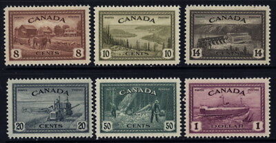 Canada 268 to 273 mh complete set
