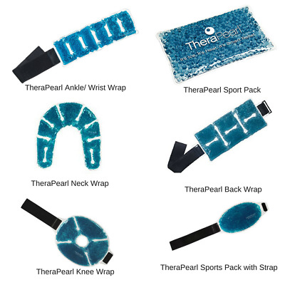 TheraPearl Pain Relief Reusable Gel Pack - Hot Cold Therapy Wrap Sport First Aid