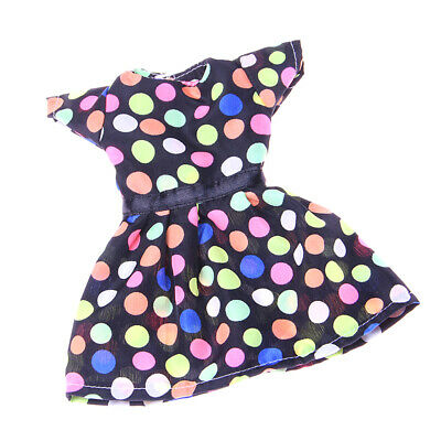 Handmade Colorful Dots Dress Party Clothes for 14 inch American Girl Doll