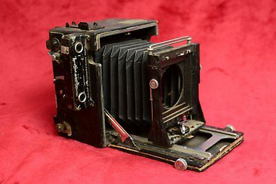 Vintage Graflex Anniversary Speed Graphic large format press camera for repair