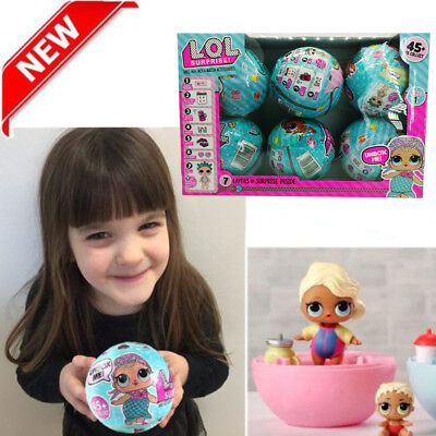 LOL Lil Outrageous 7 Layers Surprise Ball Series1&2 Doll Blind Mystery Ball Gift